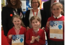 Pupils pick up awards in safety writing challenge