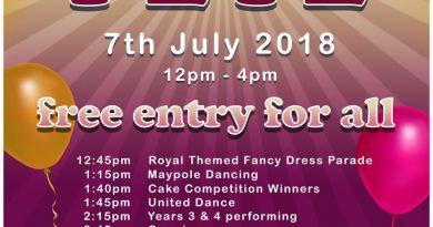 Kineton Summer Fete – 7th July (TIMETABLE CHANGES)